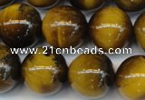 CTE1313 15.5 inches 12mm round B grade yellow tiger eye beads