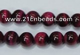 CTE137 15.5 inches 10mm round dyed tiger eye gemstone beads