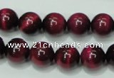CTE138 15.5 inches 12mm round dyed tiger eye gemstone beads