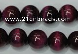 CTE139 15.5 inches 14mm round dyed tiger eye gemstone beads