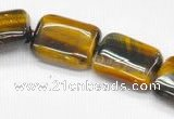 CTE14 15.5 inches 18*25mm rectangle yellow tiger eye beads