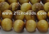 CTE1403 15.5 inches 10mm round golden tiger eye beads wholesale