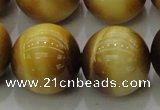CTE1407 15.5 inches 18mm round golden tiger eye beads wholesale