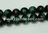 CTE143 15.5 inches 10mm round dyed tiger eye gemstone beads