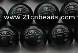 CTE1435 15.5 inches 14mm round green tiger eye beads wholesale
