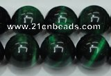 CTE146 15.5 inches 16mm round dyed tiger eye gemstone beads