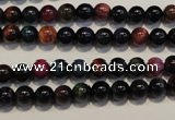 CTE147 15.5 inches 6mm round colorful tiger eye beads wholesale