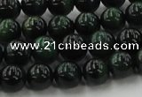 CTE1492 15.5 inches 8mm round green tiger eye beads wholesale