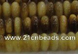 CTE1511 15.5 inches 4*8mm rondelle golden tiger eye beads