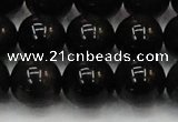 CTE1606 15.5 inches 16mm round AB grade black tiger eye beads