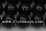 CTE1617 15.5 inches 18mm round A grade black tiger eye beads
