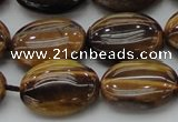 CTE1717 15.5 inches 15*20mm oval yellow tiger eye beads wholesale