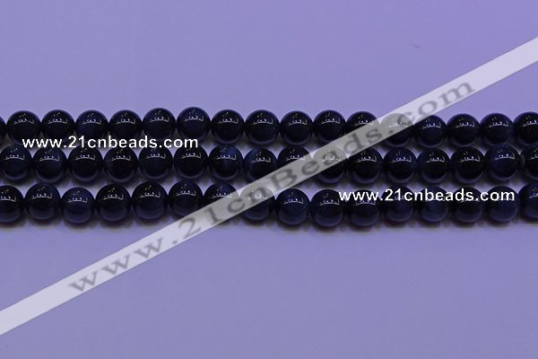 CTE1852 15.5 inches 8mm round blue tiger eye beads wholesale