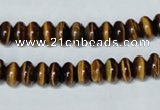 CTE193 15.5 inches 4*6mm rondelle yellow tiger eye gemstone beads