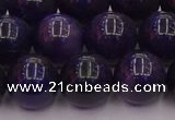 CTE1955 15.5 inches 14mm round purple tiger eye beads wholesale