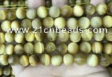 CTE2010 15.5 inches 10mm round golden tiger eye beads wholesale