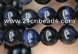 CTE2029 15.5 inches 6mm round blue tiger eye gemstone beads