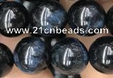 CTE2031 15.5 inches 10mm round blue tiger eye gemstone beads