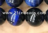 CTE2040 15.5 inches 14mm round blue tiger eye beads wholesale