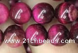 CTE2044 15.5 inches 8mm round red tiger eye beads wholesale