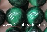 CTE2054 15.5 inches 12mm round green tiger eye beads wholesale