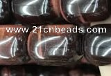CTE2069 15.5 inches 15*20mm drum red tiger eye gemstone beads