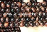 CTE2172 15.5 inches 12mm round yellow tiger eye beads wholesale
