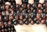 CTE2173 15.5 inches 14mm round yellow tiger eye beads wholesale