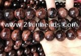 CTE2176 15.5 inches 20mm round yellow tiger eye beads wholesale