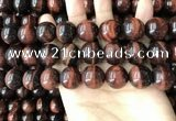 CTE2187 15.5 inches 18mm round yellow tiger eye gemstone beads