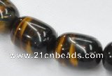 CTE34 15.5 inches 13*18mm egg-shaped blue tiger eye beads wholesale