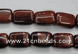 CTE54 15.5 inches 7*9mm rectangle red tiger eye gemstone beads
