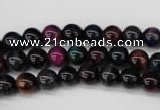 CTE591 15.5 inches 6mm round colorful tiger eye beads wholesale