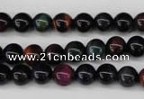 CTE592 15.5 inches 8mm round colorful tiger eye beads wholesale