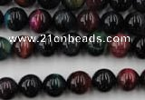 CTE593 15.5 inches 10mm round colorful tiger eye beads wholesale