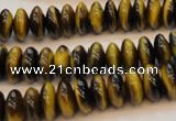 CTE602 15.5 inches 5*10mm rondelle yellow tiger eye beads wholesale