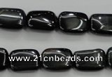 CTE71 15.5 inches 12*16mm rectangle blue tiger eye gemstone beads