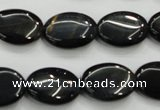 CTE76 15.5 inches 15*20mm oval blue tiger eye gemstone beads