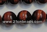 CTE88 15.5 inches 16mm round red tiger eye gemstone beads