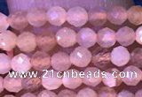 CTG1029 15.5 inches 2mm faceted round tiny moonstone beads