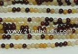 CTG108 15.5 inches 2mm round tiny mookaite gemstone beads wholesale