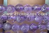 CTG1125 15.5 inches 3mm faceted round tiny amethyst beads