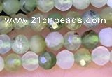 CTG1312 15.5 inches 3mm faceted round Australia chrysoprase beads