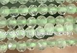 CTG1346 15.5 inches 2mm faceted round prehnite beads wholesale