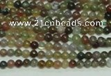 CTG139 15.5 inches 3mm round tiny Indian agate beads wholesale