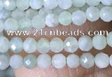 CTG1420 15.5 inches 2mm faceted round jade beads wholesale