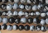 CTG2015 15 inches 2mm,3mm snowflake obsidian gemstone beads