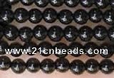 CTG2051 15 inches 2mm,3mm black obsidian gemstone beads