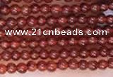 CTG2064 15 inches 2mm,3mm red agate gemstone beads