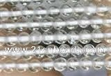 CTG2069 15 inches 2mm,3mm natural white crystal gemstone beads